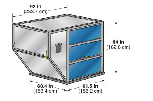 Container para o Modal Aereo LD1