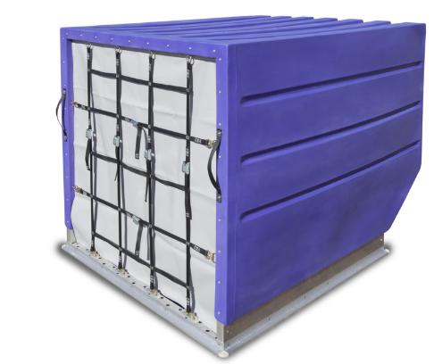 Container para o Modal Aereo modelo LD3